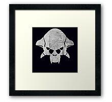 Nephilim Skull Framed Print