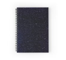 Blue and Purple Spacey Spiral Notebook