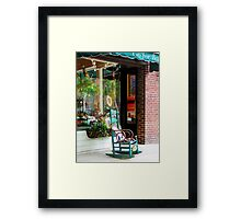 Rocking Chair by Boutique Framed Print