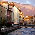 Annecy at Dusk by AmyRalston