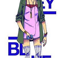 Riley Blue - Sense8 by -Kilimiria-