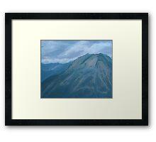 Storm Off Trail Ridge Framed Print
