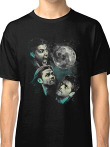The Mountain Team Free Will Moon - Supernatural Edition Classic T-Shirt