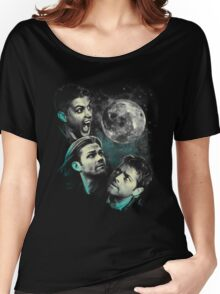 The Mountain Team Free Will Moon - Supernatural Edition Women's Relaxed Fit T-Shirt