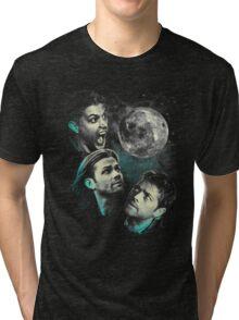 The Mountain Team Free Will Moon - Supernatural Edition Tri-blend T-Shirt