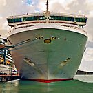 The Bow of NCL's Dawn by Memaa