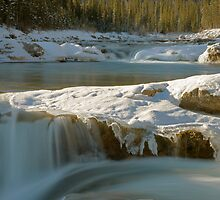 The Elbow Falls, Alberta, Canada. by Philippe Widling