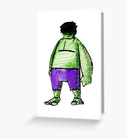 SMASH! Greeting Card