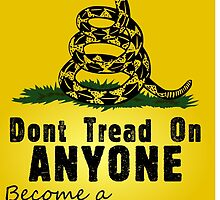 LP / Gadsden - Don't Tread on ANYONE by Arthur Thomas