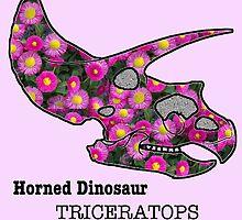 Triceratops dinosaur by sunnysketches