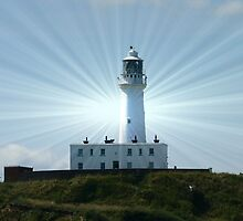 LIGHTHOUSE FLAMBOROUGH EAST YORKSHIRE by MARMARISKEV