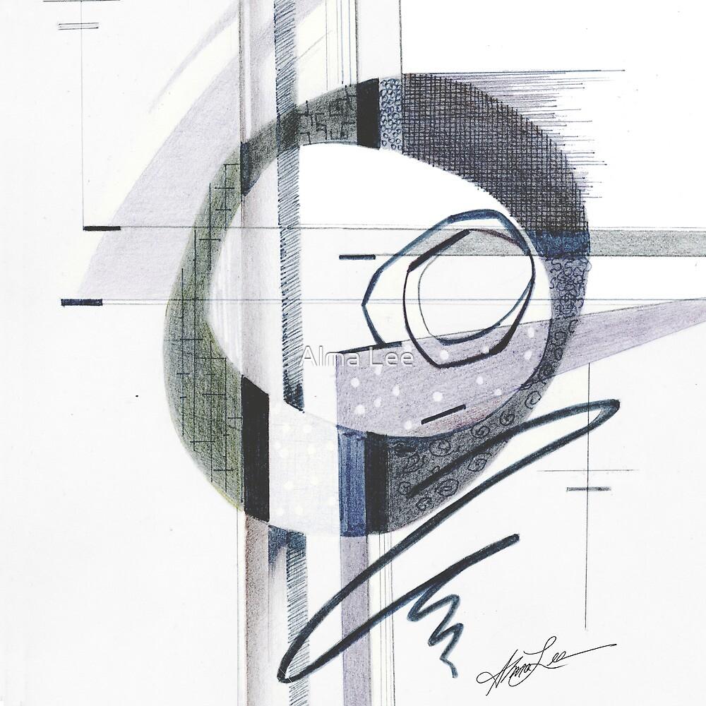 Retro Gray by Alma Lee