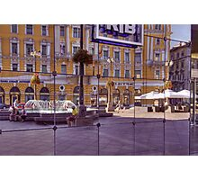 Reflected Street Life Photographic Print