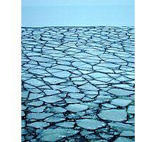 Ice Puzzle Photographic Print