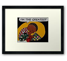 Beat Life (The Greatest) Framed Print