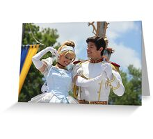 Cinderella and Prince Charming Greeting Card