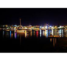Port Macquarie Lights Photographic Print