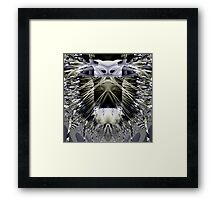 I Close My Eyes I Can Not See Framed Print