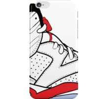 "Air Jordan VI (6) ""White Infrared"" iPhone Case/Skin"