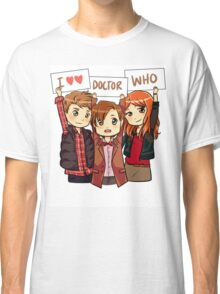 11th Doctor Squad Classic T-Shirt
