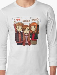 11th Doctor Squad Long Sleeve T-Shirt