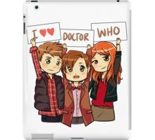11th Doctor Squad iPad Case/Skin