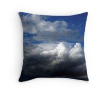 Stormy sky's  Throw Pillow