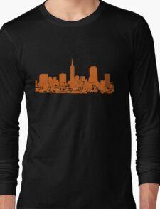 Sucka Free Orange! Long Sleeve T-Shirt