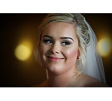 Bonnie Bride Photographic Print