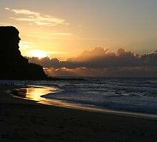 Sunrise at Garie Beach by Graham Grocott