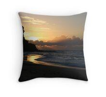 Sunrise at Garie Beach Throw Pillow
