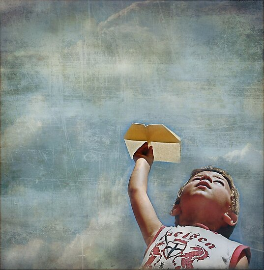Paperflyer  by Jan  Postel