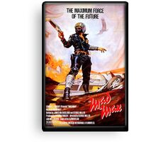 Mad Max Poster Canvas Print