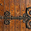 Church door by Aleksandra Misic