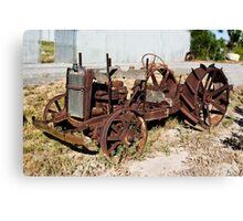 Rusty Tractor Canvas Print