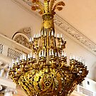 Golden Chandelier  #2 by Braedene