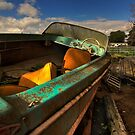 The Boat at my Mom's Place by MattGranz
