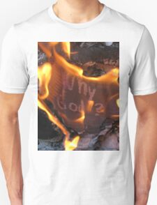 Why God 2-Available As Art Prints-Mugs,Cases,Duvets,T Shirts,Stickers,etc Unisex T-Shirt