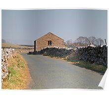 A Dales Barn Poster