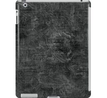 Pirate Black Oil Painting Color Accent iPad Case/Skin