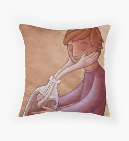 Bottled Love Throw Pillow