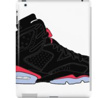 "Air Jordan VI (6) ""Black Infrared"" iPad Case/Skin"