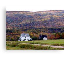 Cape Breton Homestead Canvas Print