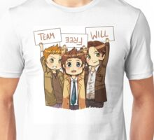 Chibi Team Free Will Ver. 2 Unisex T-Shirt