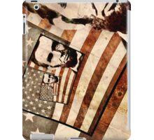 President Abraham Lincoln Patriotic Flag iPad Case/Skin