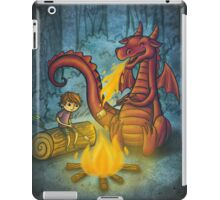 Campfire marshmallows iPad Case/Skin