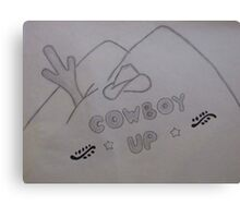 Cowboy Up Canvas Print