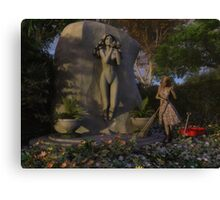 Deeping Bosk - Jemma and The Shrine of Gaea Canvas Print