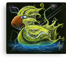 Remote Controlled Alien Rubber Duck Canvas Print
