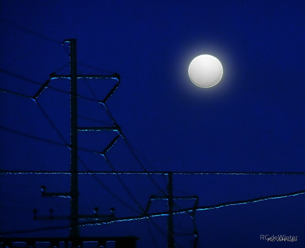 Wired Moon by RC deWinter
